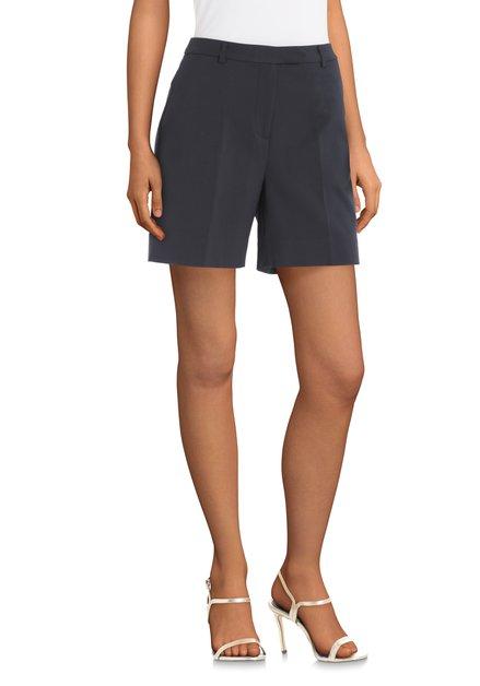 Donkerblauwe short met zakken