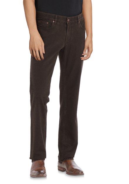 Donkerbruine jeans - Jackson - regular fit