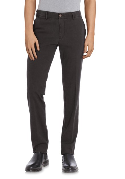 Donkergrijze chino - New York - slim fit