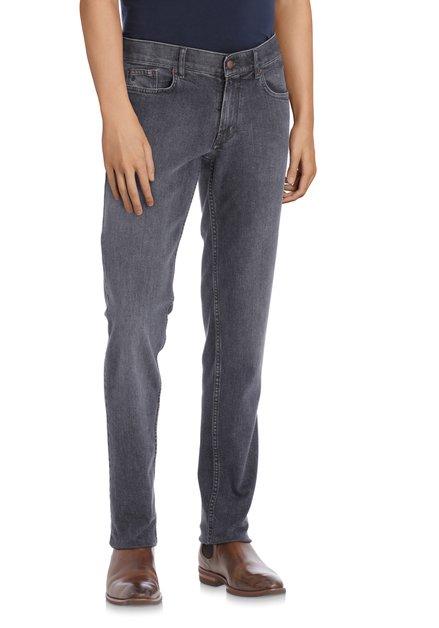 Donkergrijze jeans - Jackson - regular fit