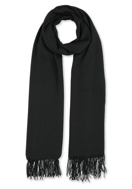 Écharpe légère noire