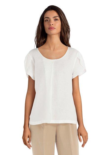 Ecru linnen blouse