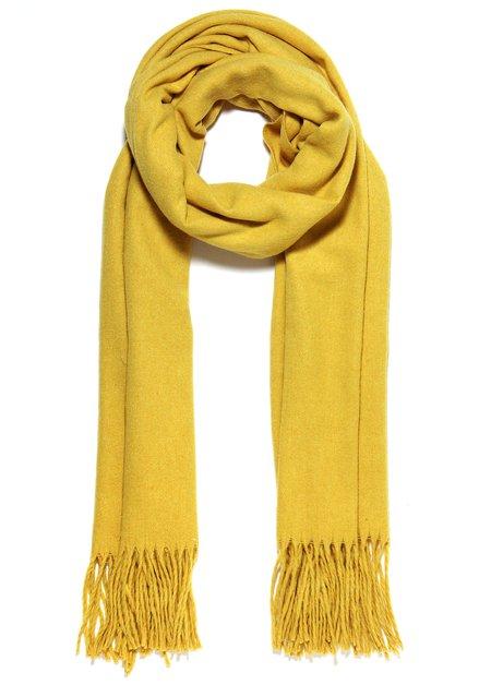 Effen goudgele sjaal
