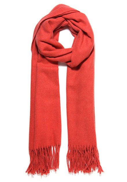 Effen oranje sjaal