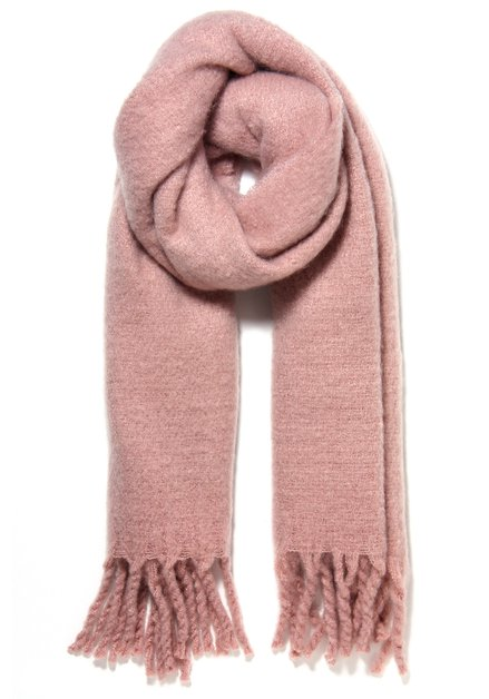 Effen roze sjaal