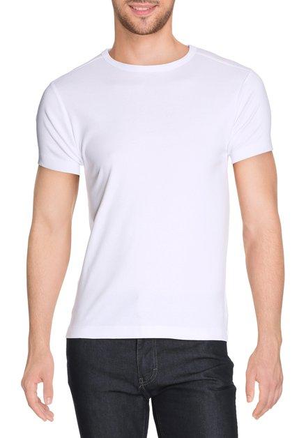 Effen wit T-shirt Cassidy
