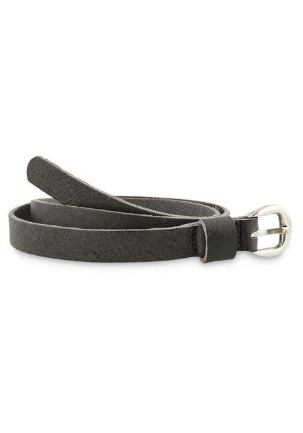 Fine ceinture grise
