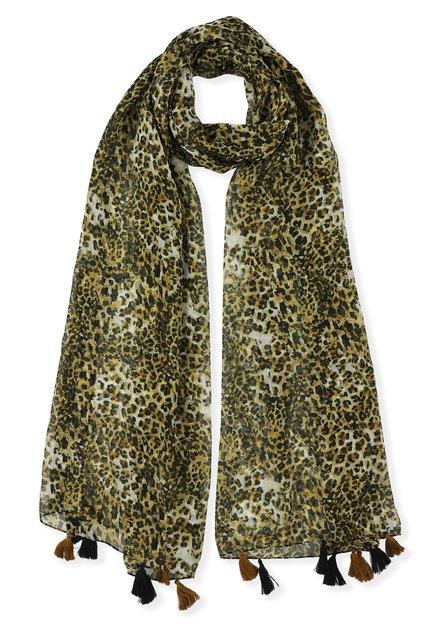 Foulard met leopardprint