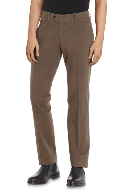 Goudbruine chino - Louisiana - regular fit