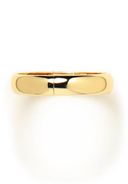 Goudkleurige armband met magneetsluiting