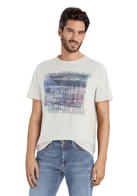Grijs T-shirt met print