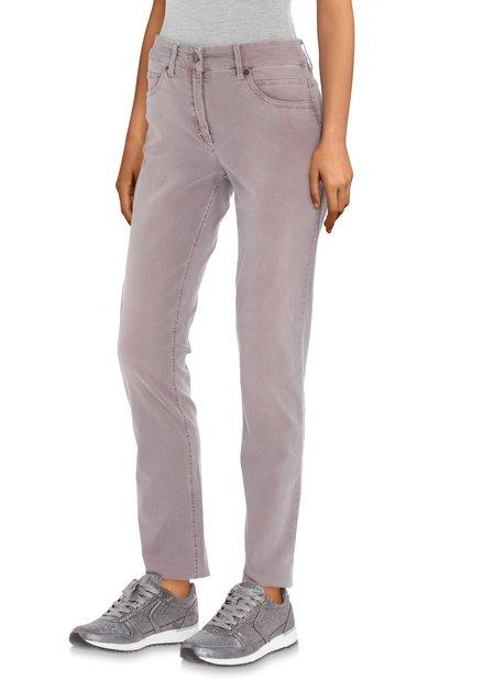 Grijsroze jeans - slim fit