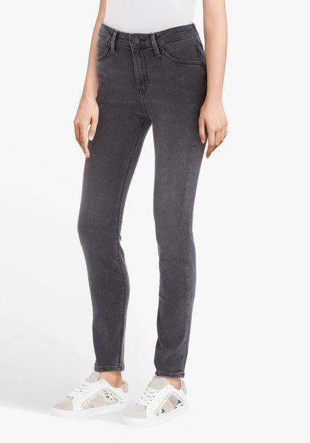 Grijze jeans - Scarlett High - skinny fit - L31