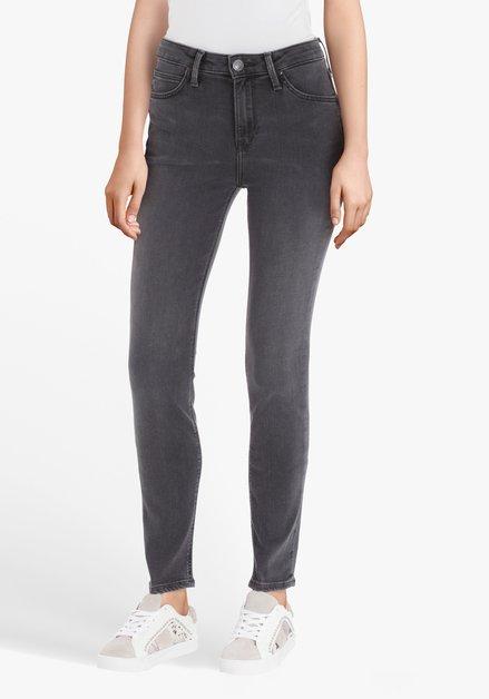 Grijze jeans - Scarlett High- skinny fit - L33
