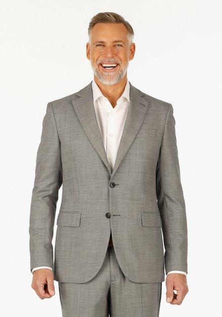 Grijze kostuumvest – Steve – slim fit