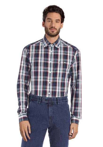 Groen geruit hemd - comfort fit