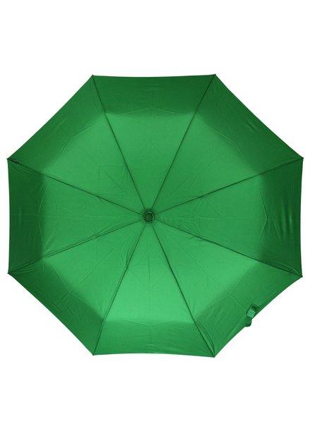 Groene opvouwbare paraplu