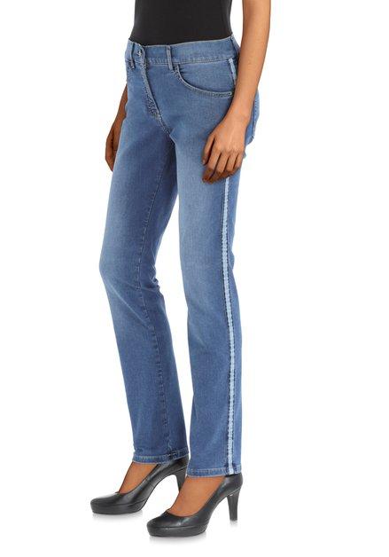 Jean bleu avec galon clair – Twigy – regular fit