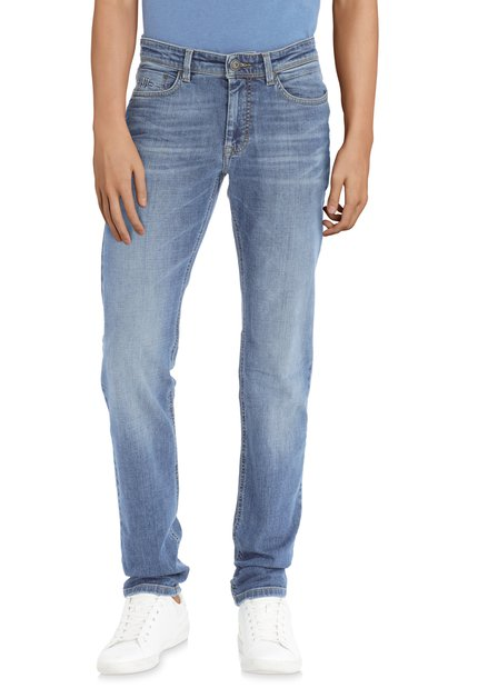 Jean bleu délavé – regular fit