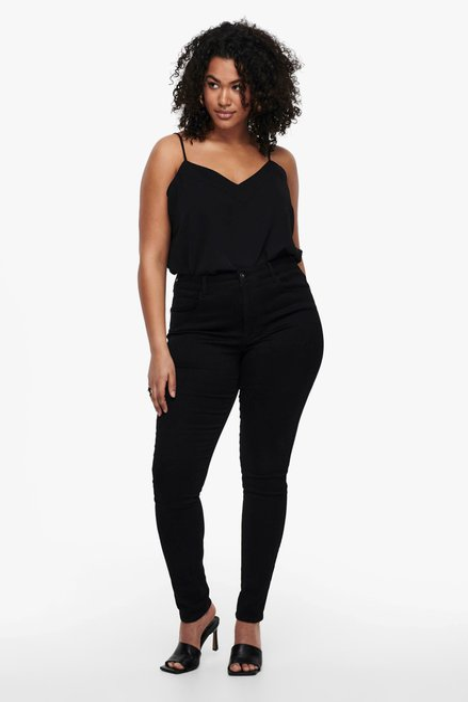 Jean noir - high waist - skinny fit