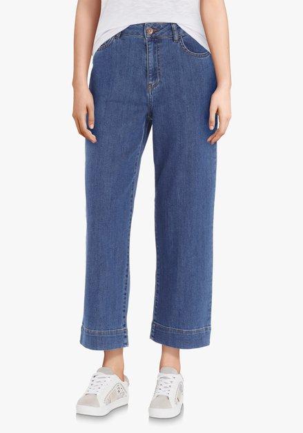 Jeans bleu 7/8 – slim fit