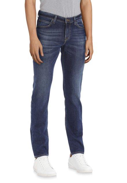 Jeans bleu foncé - Rider – slim fit - L34