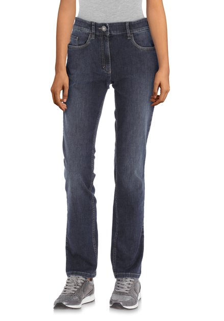 Jeans bleu foncé - straight fit