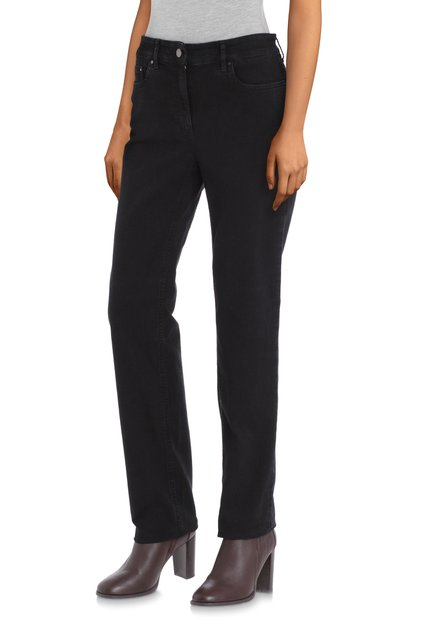 Jeans noir – Cora – straight fit