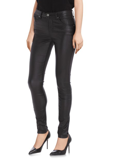 Jeans noir avec coating - slim fit