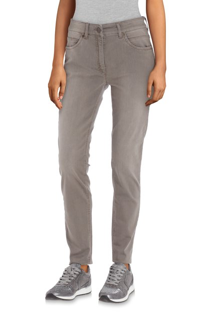 Jeans taupe - slim fit