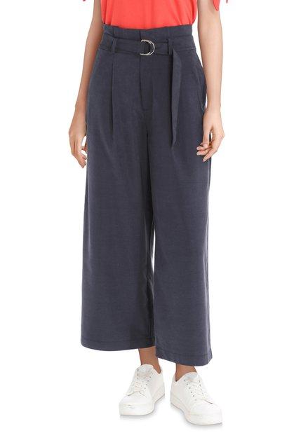 Jupe culotte bleu foncé