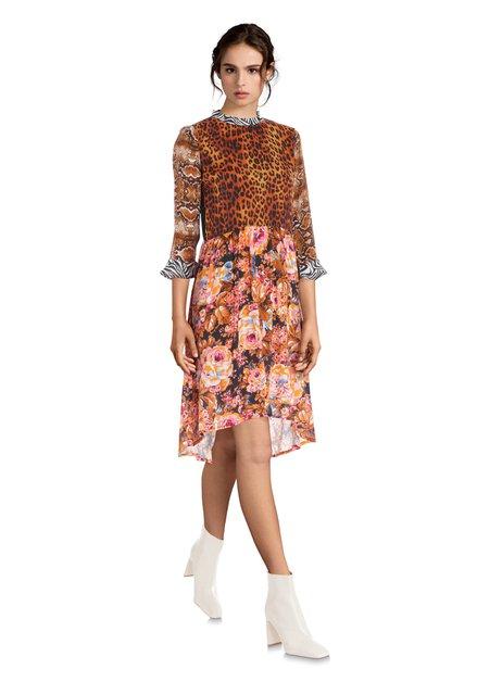Kleurrijk jurkje met prints