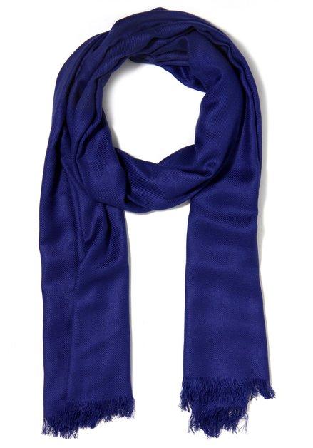 Koningsblauwe sjaal
