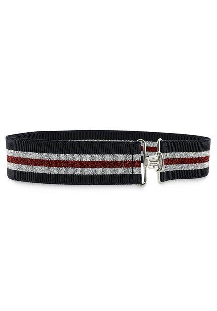 Large ceinture bleue et rouge
