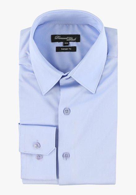 Lichtblauw hemd - slender fit
