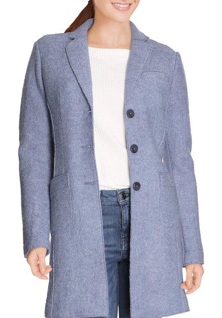 Lichtblauwe mantel