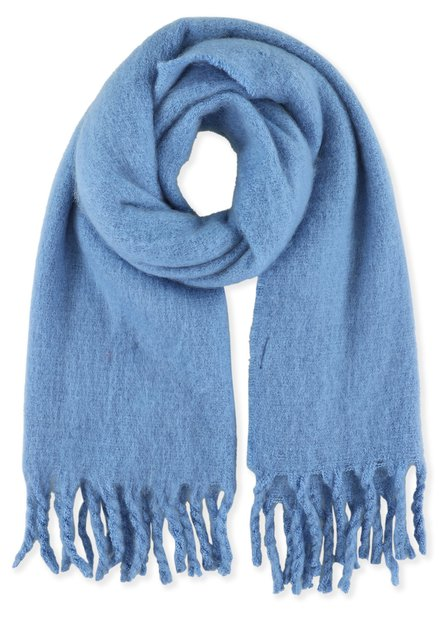 Lichtblauwe zachte sjaal
