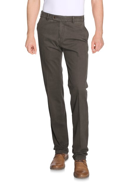 lichtgrijze chino - Vancouver - regular fit