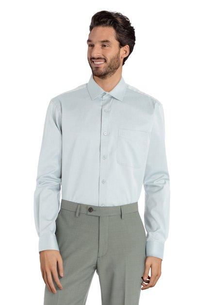 Lichtgroen hemd - Cosmos - Comfort fit