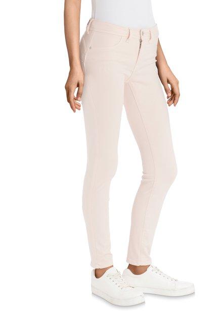 Lichtroze jeans - slim fit