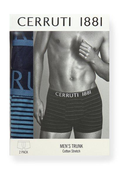 Lot de 2 boxers pour homme -bleu et turquoise
