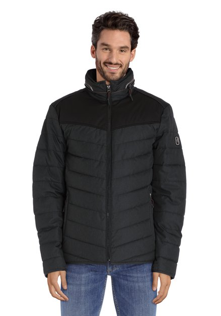 Manteau matelassée anthracite