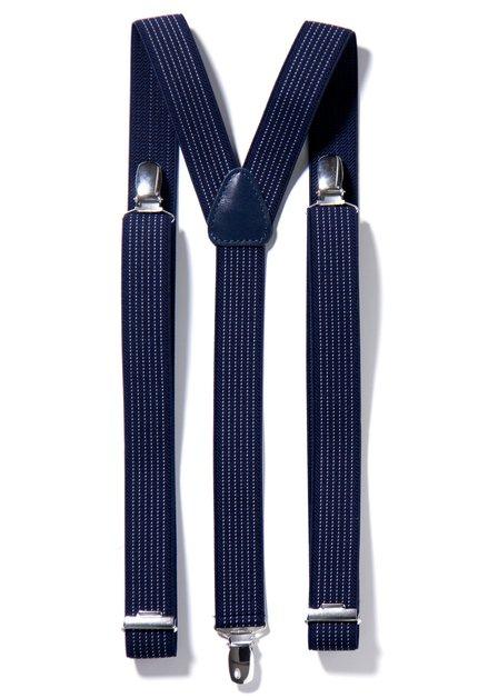 Marineblauwe Bretels Motard