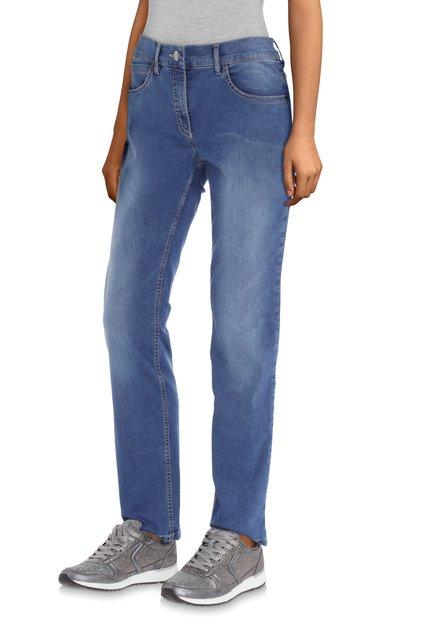 Mediumblauwe jeans - slim fit