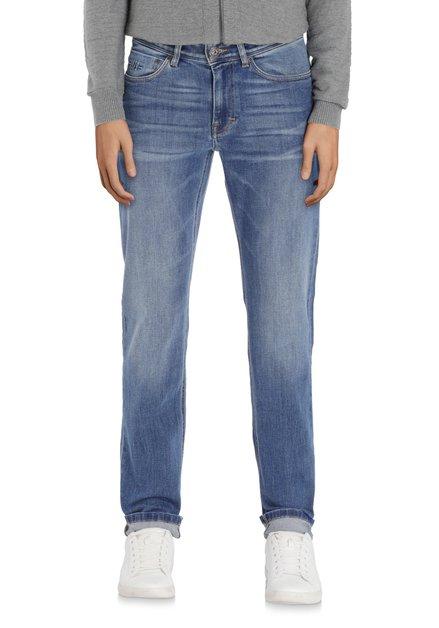 Middenblauwe jeans - modern fit