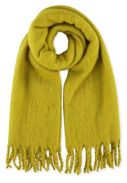 Mostergele zachte sjaal