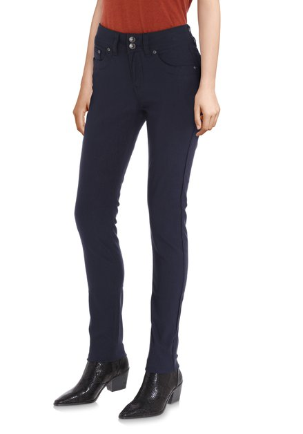 Navy broek - slim fit