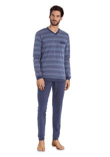 Navy gestreepte pyjama
