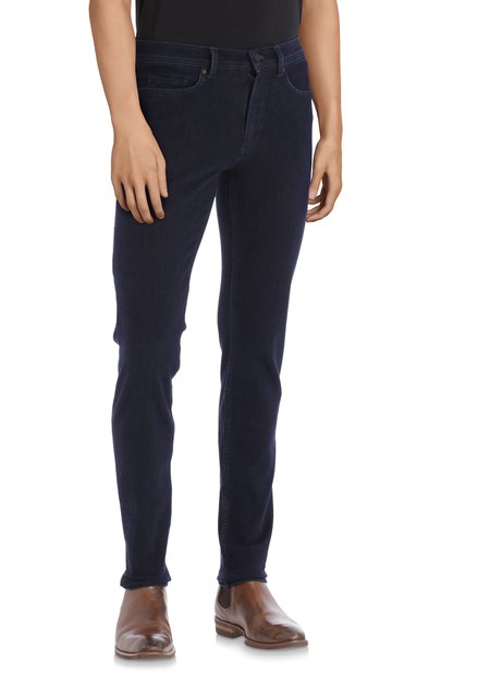 Navy jeans stretch - Lars - -slim fit - L34