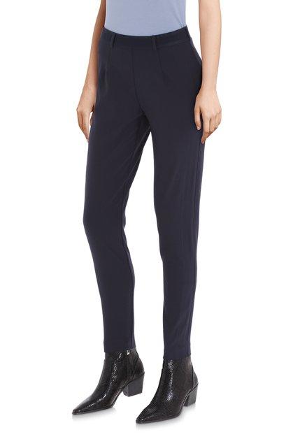 Navy legging met elastische tailleband